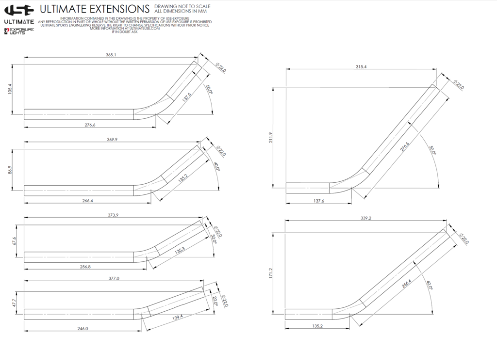 USE Carbon Hi-Rise extensions